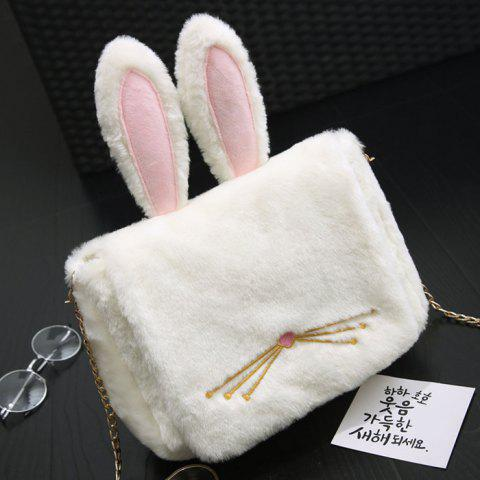 Buy Rabbit Funny Cross Body Bag - White