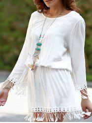 Long Sleeve Beach Cover Up