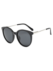 Metal Leg Cat Eye Sunglasses -