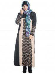 Plus Size Lace Long Sleeve Maxi Dress