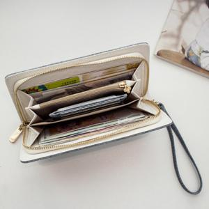 Zip Around Wristlet Wallet -