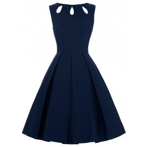 Cut Out Skater Dress