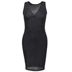 Low Cut Tank Bodycon Club Dress
