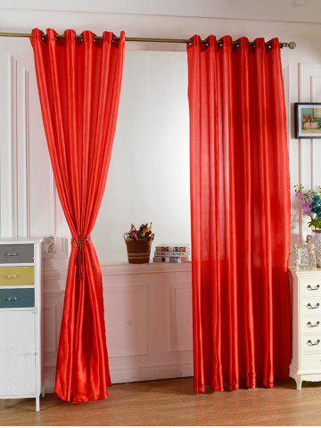 Hot Home Decor Grommets Ring Top Blackout Curtain