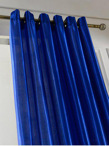 New Home Decor Grommets Ring Top Blackout Curtain - 100*200CM ROYAL Mobile