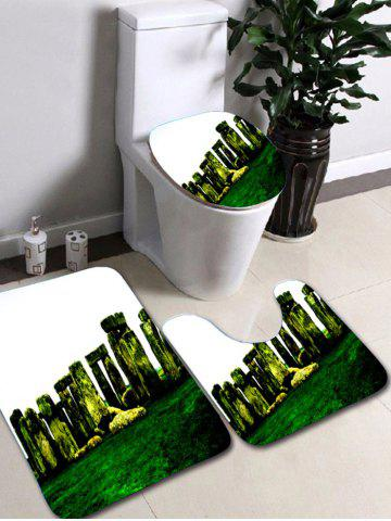 Unique 3Pcs Stonehenge Print Caroset Bath Rug and Mats Sets - COLORMIX  Mobile