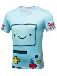 Cartoon Game Over Graphic Tee