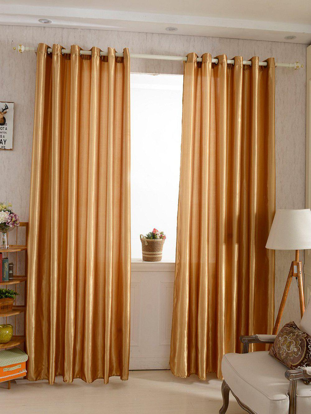 Cheap Home Decor Grommets Ring Top Blackout Curtain