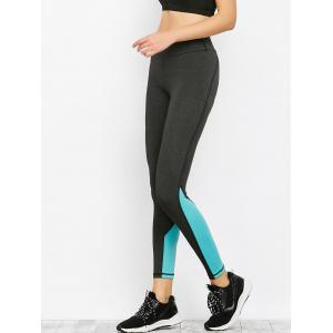 Colorblock Sporty Running Leggings