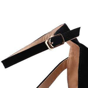Strap Stiletto Heel Sandals -