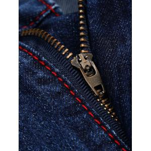 Patches Straight Leg Jeans -