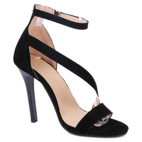 Chic Strap Stiletto Heel Sandals