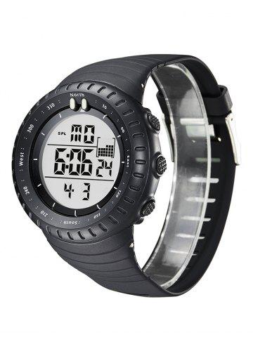 Affordable GIMTO Waterproof Sports Digital Watch - WHITE  Mobile