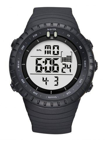 Discount GIMTO Waterproof Sports Digital Watch - WHITE  Mobile
