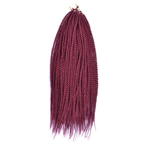 Buy Long Senegal Twists Synthetic Hair Extension - Brick Red 18INCH