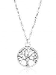 Vintage Life Tree Pendant Necklace