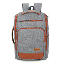 Multi Zips Mesh Panel Backpack