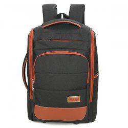 Multi-Zips Mesh Panel Backpack - Noir