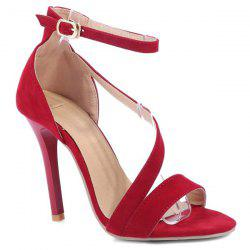 Strap Stiletto Heel Sandals