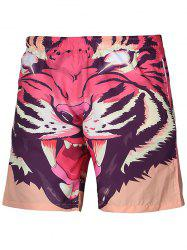 3D Animal Print Board Shorts