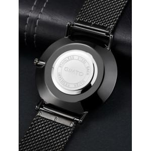GIMTO Stainless Steel Mesh Analog Watch -