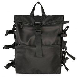 Multi Bows Nylon Backpack