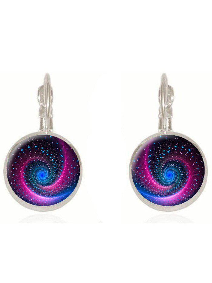 Latest Artificial Gem Starry Sky Drop Earrings