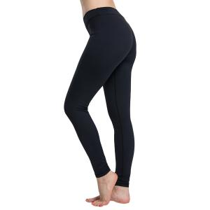 Simple Design Solid Color High Waist Sport Leggings For Women -