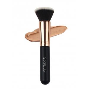 Flat Liquid Foundation Brush - Black - 4xl