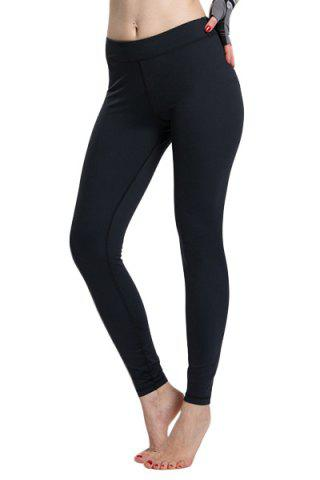 Latest Simple Design Solid Color High Waist Sport Leggings For Women