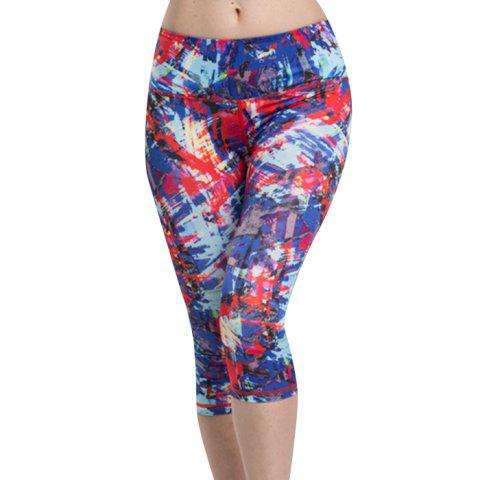 Chic Colormix Chic High Waist Sport Leggings For Women