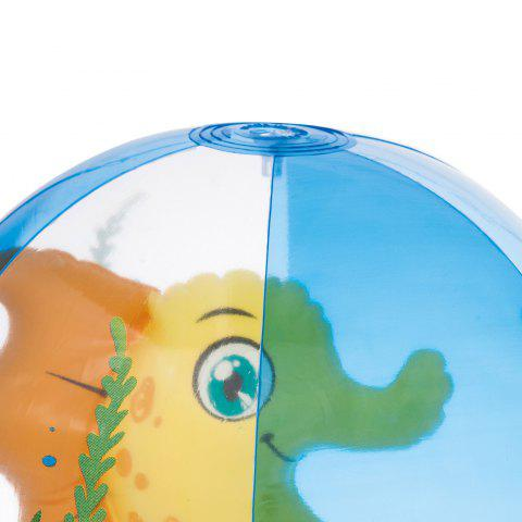 Sale Outdoor Transparent Inflatable Beach Ball with Animal Inside -   Mobile