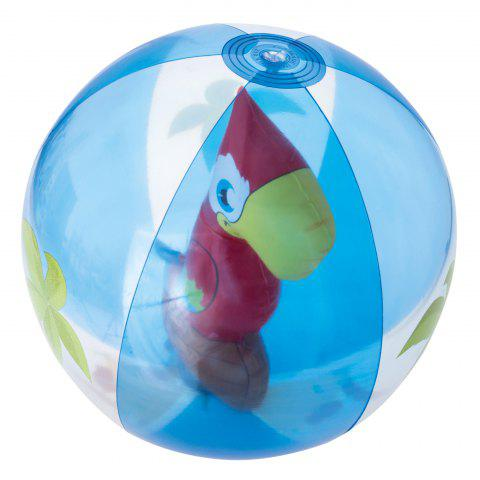 Buy Outdoor Transparent Inflatable Beach Ball with Animal Inside -   Mobile