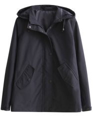 Hooded Water Resisitant Jacket -