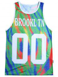 Colorful Graphic Tank Top - COLORMIX