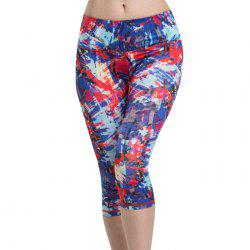 Colormix Chic High Waist Sport Leggings For Women -