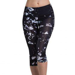 Chic High Waist Printed Sport Leggings For Women