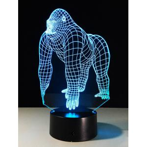3D Animal Color Change Touch Control LED Night Light -