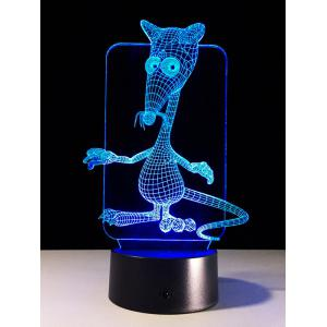 3D Mouse Touch Control Color Change LED USB Night Light -