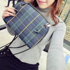 Cross Body Tartan Bag