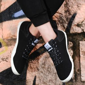 Round Toe Suede Casual Shoes -