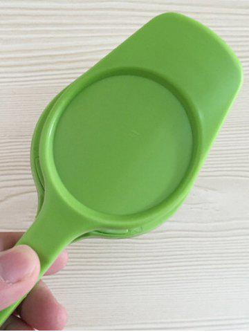 Best Multifunctional Handheld Slicer Egg Tongs Kitchen Tool - GREEN  Mobile