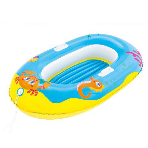 Cheap Crab Print Kids Inflatable Floating Boat -   Mobile