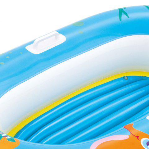 Chic Crab Print Kids Inflatable Floating Boat -   Mobile