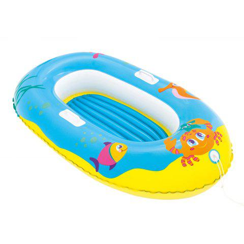Outfit Crab Print Kids Inflatable Floating Boat -   Mobile