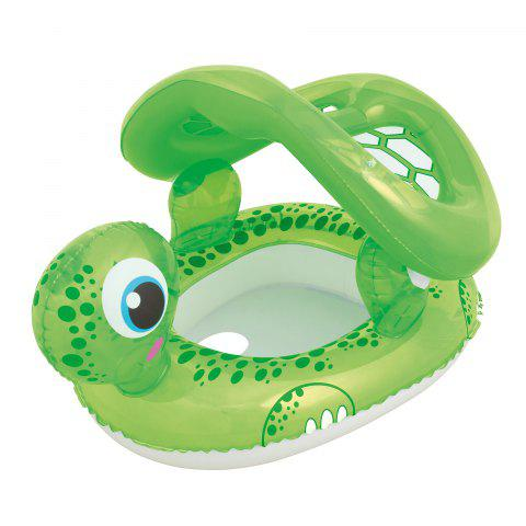 Hot Turtle Shape Swimming Pool Water Seat with Anti-UV Canopy -   Mobile