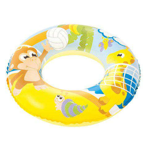 Discount Graphic Print Swim Ring -   Mobile