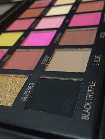 Fancy 18 Colors Powder Eyeshadow Kit - COLORMIX  Mobile