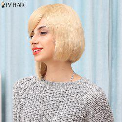 Siv Hair Short Inclined Bang Asymmetric Bobo Wigs