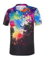 Paint Drip Short Sleeve Tee